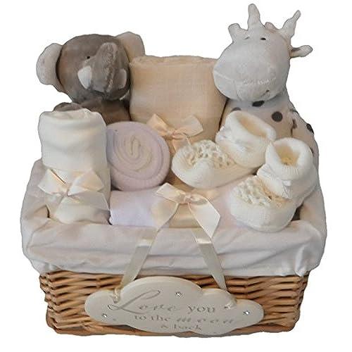 Unisex Baby Boy Girl Elli And Raf Hamper Gift Basket Baby Shower Present