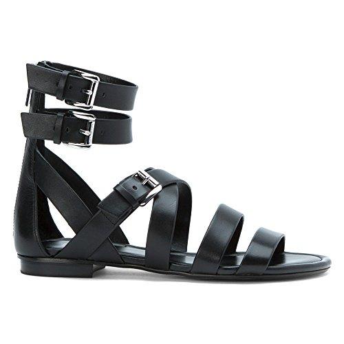 Sandalo Michael Kors Jocelyn in pelle nera Nero