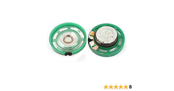 rund innen Electronic Magnet Lautsprecher schwarz 40 mm 2 Pcs 0,25W 200 W