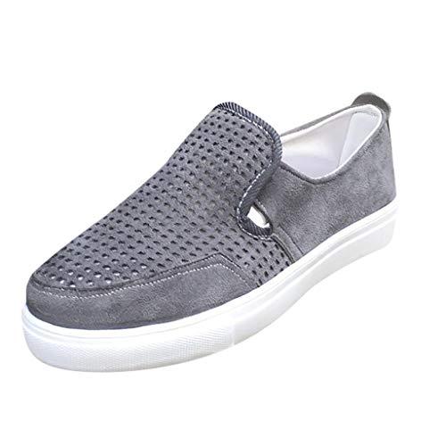 Makefortune-Sandalen Flache Schuhe für Damen, Brogues Slipper Oxford-Leder & Wildleder Retro Damen Loafers Low-Top Sneakers Wanderschuhe für den täglichen Gebrauch