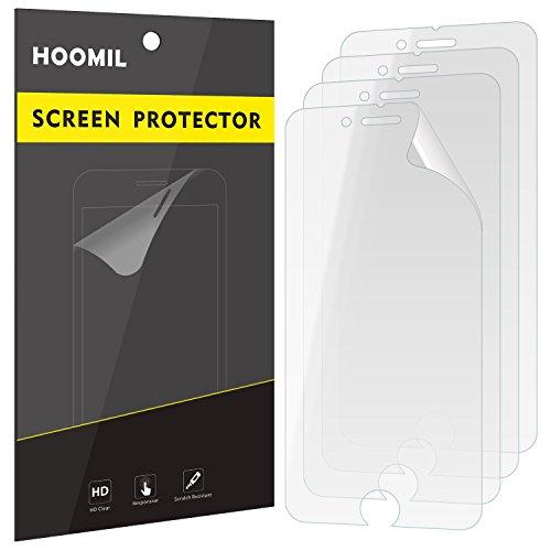 iPhone 6 Schutzfolie, iPhone 6s Schutzfolie, HOOMIL Screen Protector [4 Stück] [Ultra HD Klar] Displayschutzfolie für Apple iPhone 6 / 6s Folie