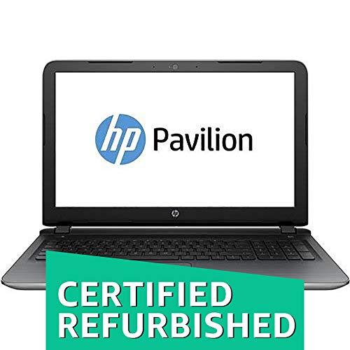 (Renewed) HP 15-ab125AX 15.6-inch Laptop (AMD A10-8700P/8GB/1TB/Windows 10/AMD Radeon R7 Series M360 2 GB Graphics), Natural Silver