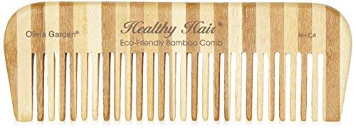 Olivia Garden Healthy Hair Bambus Styler HH-C4, 15 cm mit grober Zahnung