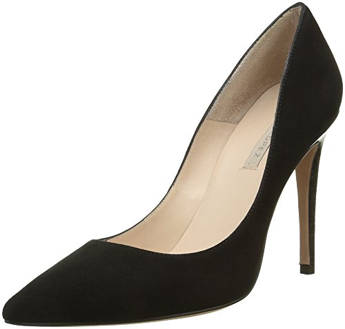 Pura Lopez Pump, Escarpins Femme Noir (Tejus Black)