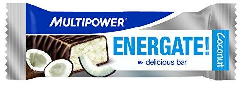 Multipower Energate Coco Barras Nutritivas   24 Barras
