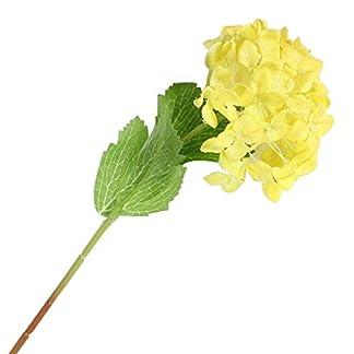 ZHOUBA 1 Pieza de Hortensias Artificiales para Fiestas, Bodas y Bodas, Decoración de Flores Falsas para el hogar