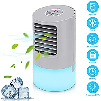 Climatiseur portable mini refroidisseur d 39 air portable - Mini climatiseur pour chambre ...