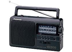 Panasonic RF-3500 Tragbares Radio schwarz