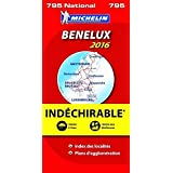 Carte NATIONALE Benelux Indechirable 2013 n°795
