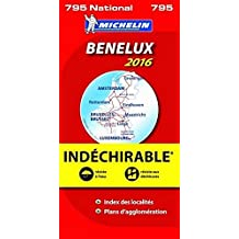 Carte Benelux Indechirable Michelin 2013