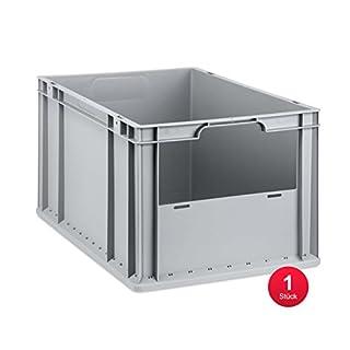 Eurobox Insight, Front offen, 600x400x320mm, 1 St, grau