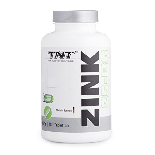 Zink Tabletten Hochdosiert für 6 Monate – Immunsystem stärken – Zink-Histidin made in Germany/Tabletten