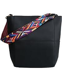 Rbsports Casual Hobo Bag Sling Messenger Handbag Shoulder Bag Tote Purse Black