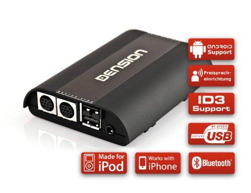 DENSION GATEWAY Pro BT GWP1V21 (iPhone + iPod + USB + Bluetooth) für Seat, Skoda & VW mit BAP CAN-Bus (RCD/RNS510) Vw Ipod