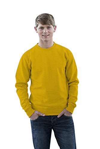 JH030 Sweater Sweatshirt Sweat Sweater Pullover Sun Yellow