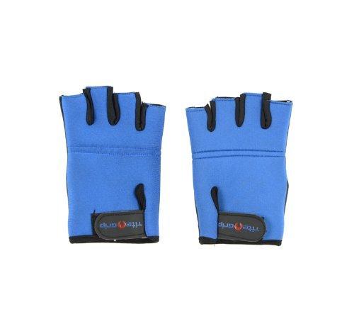 Tite Grip Neopren-Handschuhe, für Pole Dance und Krafttraining, Größe XS/S, Blau