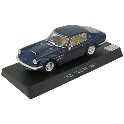 Voiture miniature Maserati Mistral - 1964 (1:43) - bleu foncé