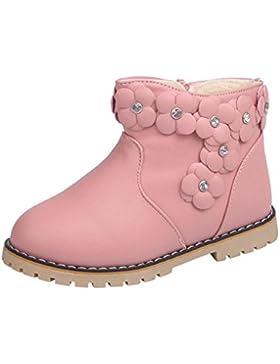 VENMO Kinder warm Jungen Mädchen FloralMartin Sneaker Stiefel Freizeitschuhe Mode Winter Dick Schnee Casual Schuhe...