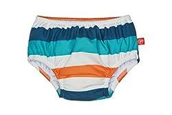 Lässig Splash & Fun Baby Swim Diaper / Baby Schwimmwindel boys-multistripe, 18 Monate, Größe L