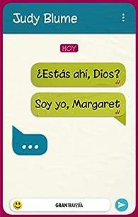 ¿Estás ahí, Dios? Soy yo, Margaret par Judy Blume