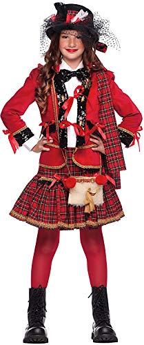 Scozzese Kostüm - Veneziano Carnevale Venizano CAV50671-XXXL - Kinderkostüm SCOZZESE Ragazza - Alter: 11-12 Jahre - Größe: XXXL