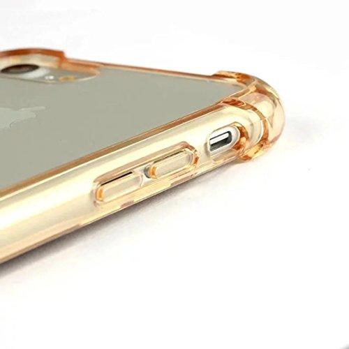 iPhone 7Case Cover, figlio di tcoco Advanced Ultra Thin Flexible Bumper TPU Gel shock assorbimento anti scratch Hard Protective Back Cover for iPhone 7