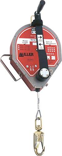 Preisvergleich Produktbild Honeywell Safety Höhensicherungsgerät 1005160 Edelstahlseil 30m Fallstop-Gerät 0612230160609