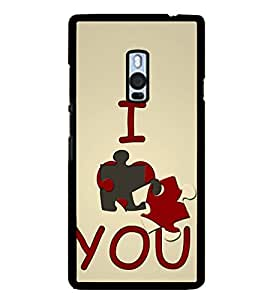 FUSON I Love You Much Designer Back Case Cover for OnePlus 2 :: OnePlus Two :: One Plus 2