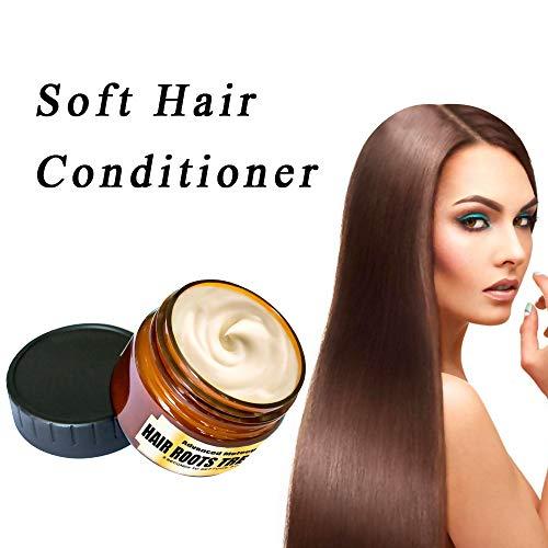 Maschera per Capelli Disintossicante per Capelli Advanced Molecular Hair Roots Treatment Recovery, Essenza Naturale per la cura dell'olio di argan - condizionatore profondo adatto (60ml)