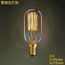 kinine 220V peque?o tornillo de Edison bombilla cable luz decorativa de la l¨¢mpara E14