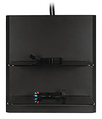 OmniMount Blade Wall Shelf - Black - low-cost UK light store.
