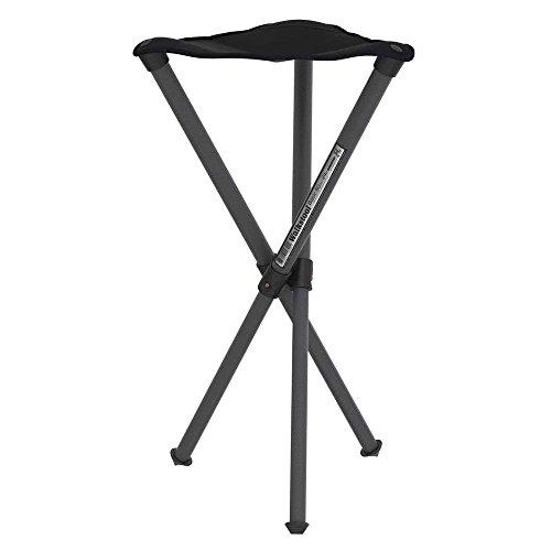 Walkstool Basic_60 Taburete de Camping, Unisex Adulto, Negro, Un tamaño