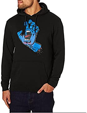 Felpa Santa Cruz: Hood Screaming Hand BK