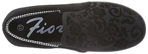 Fiorucci - Fdag035, Scarpe da ginnastica Donna Nero (Nero (Nero))