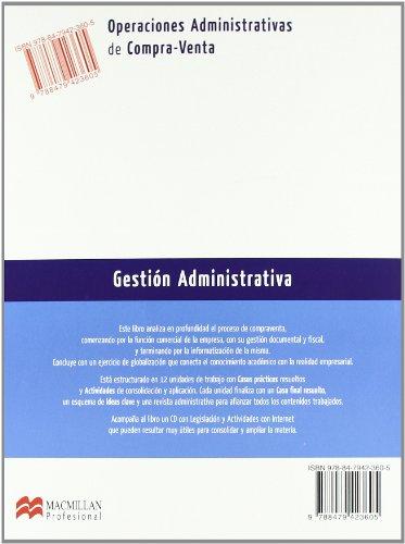 Operaciones Administrativas de Compra-Venta (Gestión Administrativa)