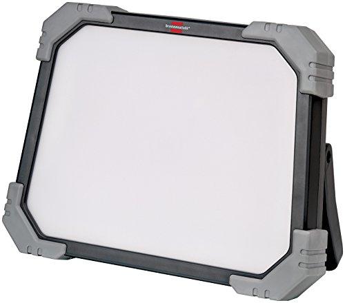 Brennenstuhl Mobiler LED Baustrahler außen Dinora 5000 (47 W, mit 5m Kabel, Baustrahler IP65, bruch- und schlagfestes Kunststoffgehäuse) grau