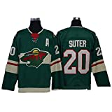 Yajun Ryan Suter?20/Nino Niederreiter?22 Minnesota wild Eishockey Trikots Jersey NHL Herren Sweatshirts Atmungsaktiv T-Shirt Bekleidung -