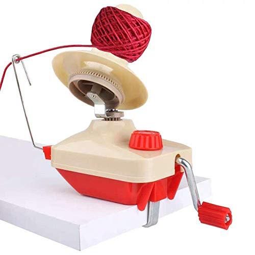 Fortspang Garn-Schnur-Wickler, Garn-Ball-Wickler Handbetriebener Wollwickler-Halter für schnellen Garn-Faser-Schnur-Ball