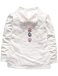 【JIANGFU】 Camiseta Sin Mangas - Para Bebé Niña