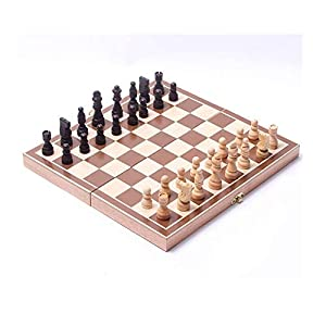 Internationales Schachspiel Schachspiel, das hölzernes Standardschachspiel-Brettset mit hölzernen in Handarbeit…