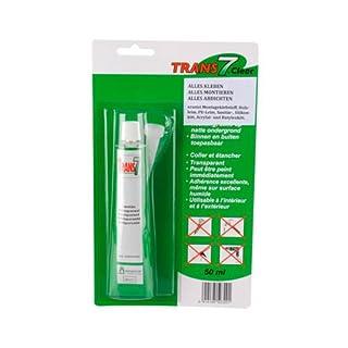 TRANS7 Klebe- und Dichtmittel transparent, 50 ml