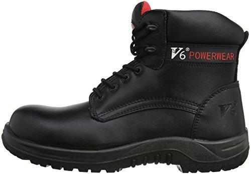 V12 Otter, Metal Free Safety Boot, 12 UK 47 EU, Black Noir (Black)