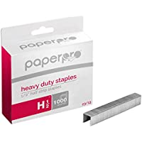 PaperPro - 1913 - 23/13 Premium Heavy Duty Staples, Pack of 1000 Pins