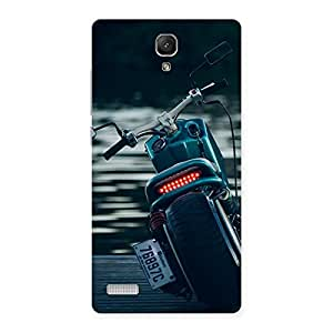 Premium Bike Chopper Multicolor Back Case Cover for Redmi Note 4