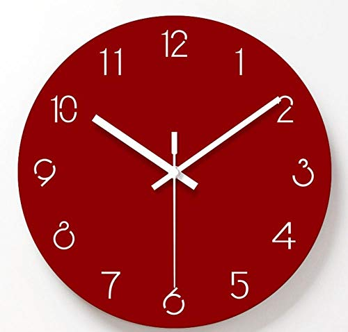 NIAY Reloj De Pared Sala De Estar Gráficos De Pared Creativos Pared Colgante IKEA Moda Reloj Digital De Tiempo Reloj...