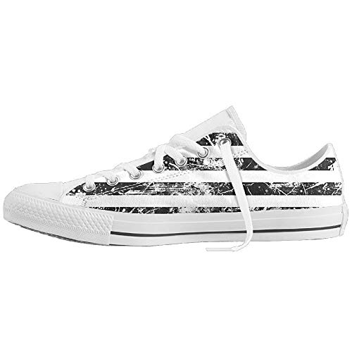 Camo Poly-mesh-trainer (DGHKH American Flag Adults Ultralight Slip-On Casual Trainers for Girls Sports)
