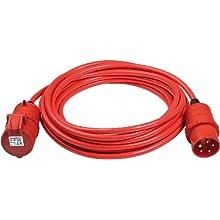 Brennenstuhl 1168590 Bremaxx CEE Extension Cable IP44 25m Signal red AT-N07V3V3-F 5G1,5