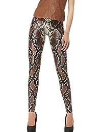 e0618656aac Aivtalk Vogue Leggings Skinny Pantalones Lápiz Elásticos Pantalón Largo  Pants para Mujer Chica - Estampado Moda