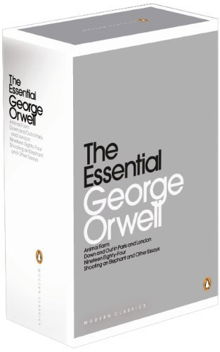 The Essential Orwell Boxed Set: Animal Farm, Down and Out in Paris and London, Nineteen Eighty-Four, Shooting an Elephant and Other Essays (Penguin Modern Classics) by George Orwell (4-Aug-2011) Paperback