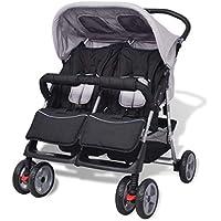 Amazon.es: Sillas gemelares - Carritos y sillas de paseo: Bebé